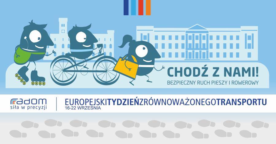 Europejski Tydzień Zrównoważonego Transportu 2019 w Radomiu